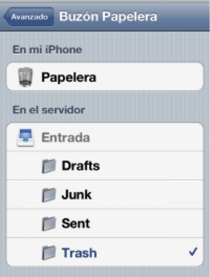 buzon error iphone